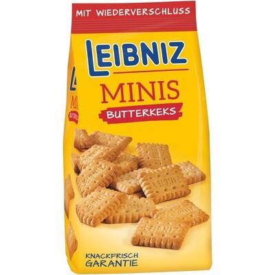 Grosspackung Bahlsen Leibniz Minis Butterkekse 12 x 150 g = 1,8 kg