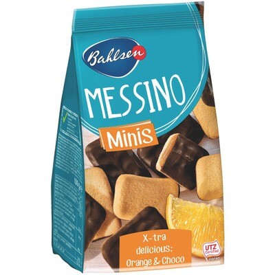 Grosspackung Bahlsen Messino Mini Orange 12 x 100 g = 1,2 kg