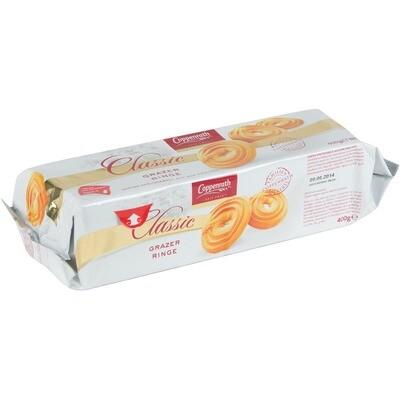 Grosspackung Coppenrath Grazer Ringe 15 x 400 g = 6 kg Butterkränze