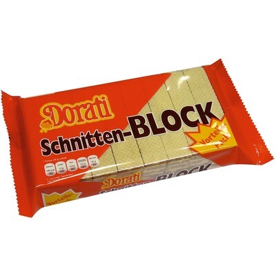 Grosspackung Dorati Schnittenblock 12 x 400 g = 4,8 kg