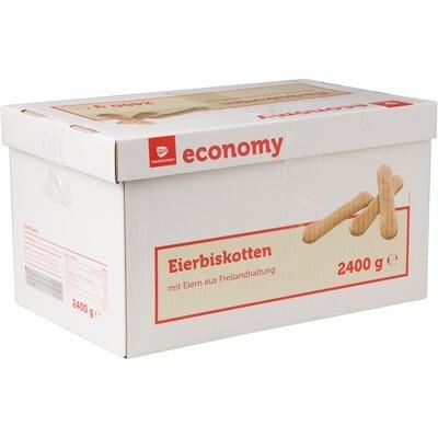 Grosspackung Economy Eierbiskotten Gastro 2,4 kg
