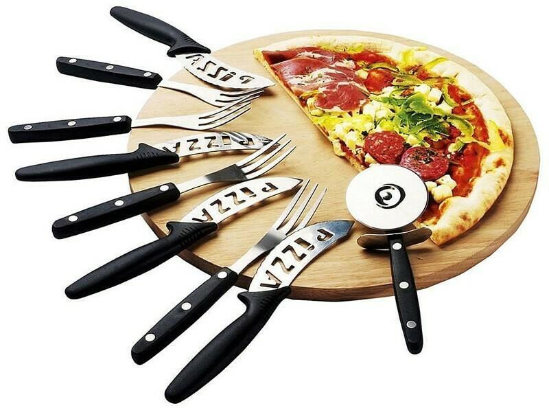 Pizza-Servierset - 10 Teile