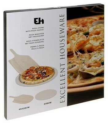 Pizzastein mit Pizzaschaufel