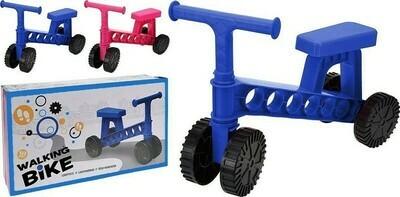 Laufrad in pink oder blau