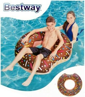 Bestway Schwimmring Donut rot oder braun