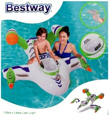 Bestway Wet Flugzeug / Jet Rider mit Wasserpistole