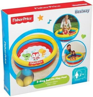 Fisher-Price Pool / Planschbecken mit Bällen
