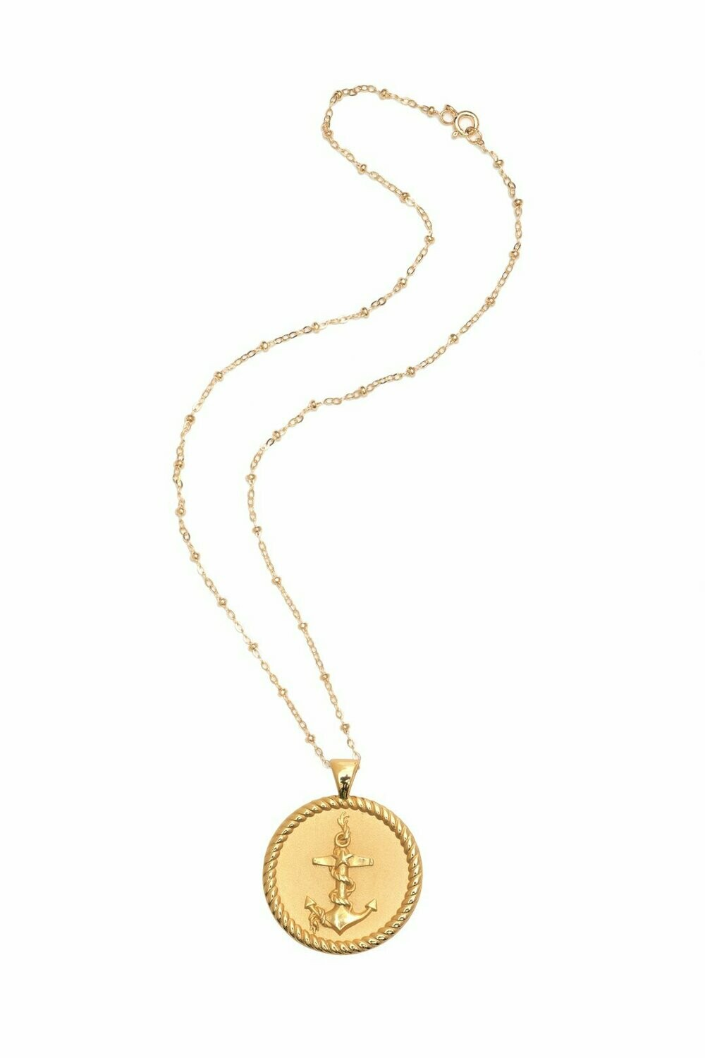 "Jane Winchester Original ""Strong"" Coin Necklace"