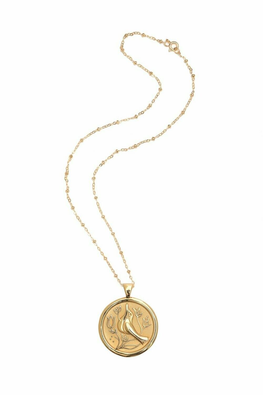 "Jane Winchester Original ""Peace"" Coin Pendant"