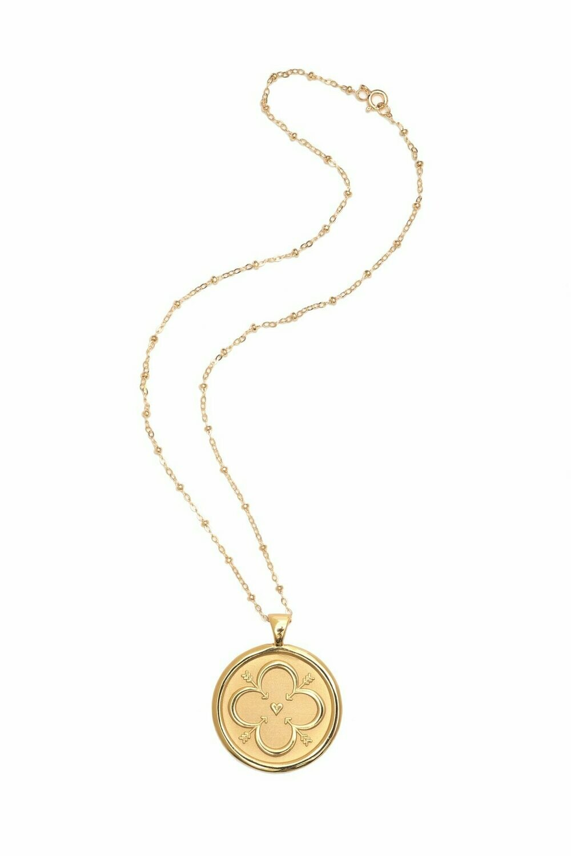 """Jane Winchester Original """"Love"""" Coin Pendant"""