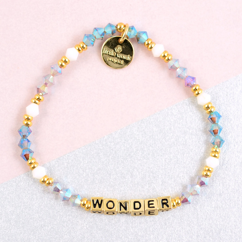 "Little Words Project Gold ""Wonder"" Bracelet"