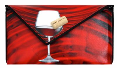 Kent Stetson Red Wine Clutch