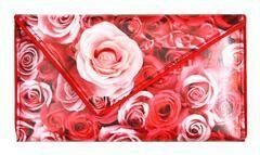 Kent Stetson Pink Rose Clutch