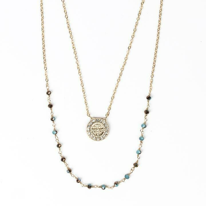 Blessings and Grace Necklace (Gold)