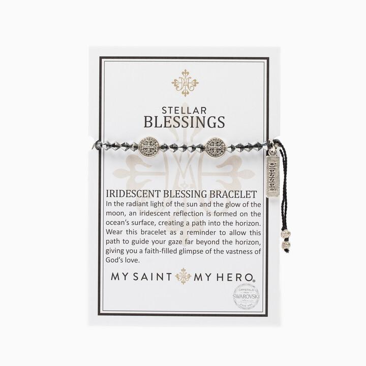 Stellar Blessings Bracelet (Silver/Iridescent)