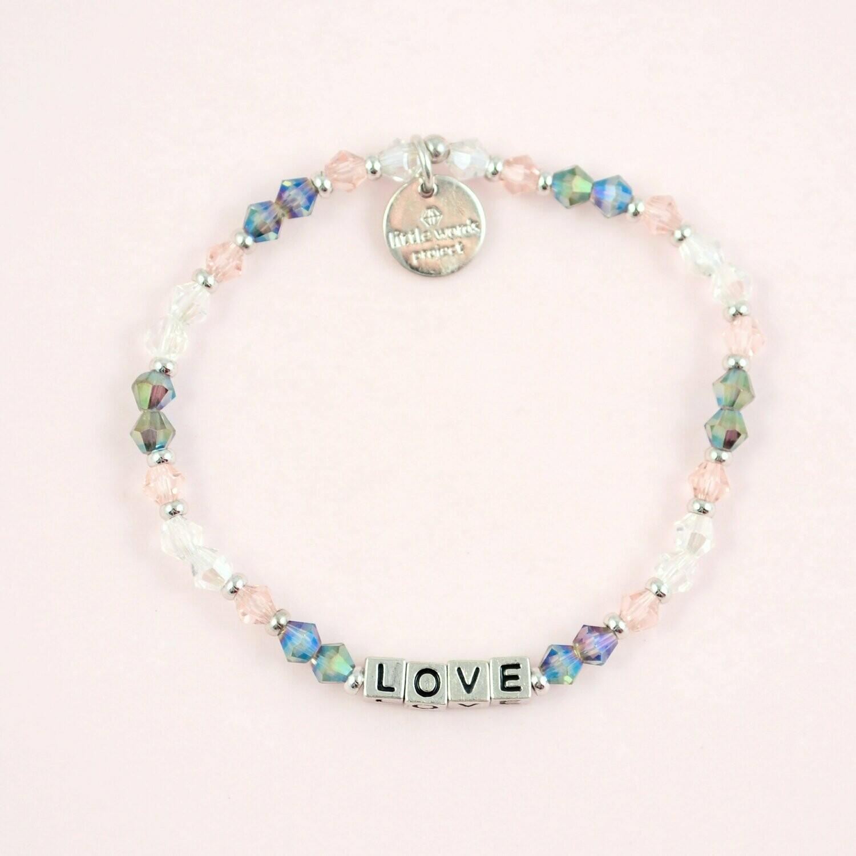 """Little Words Project Silver """"Love"""" Bracelet"""