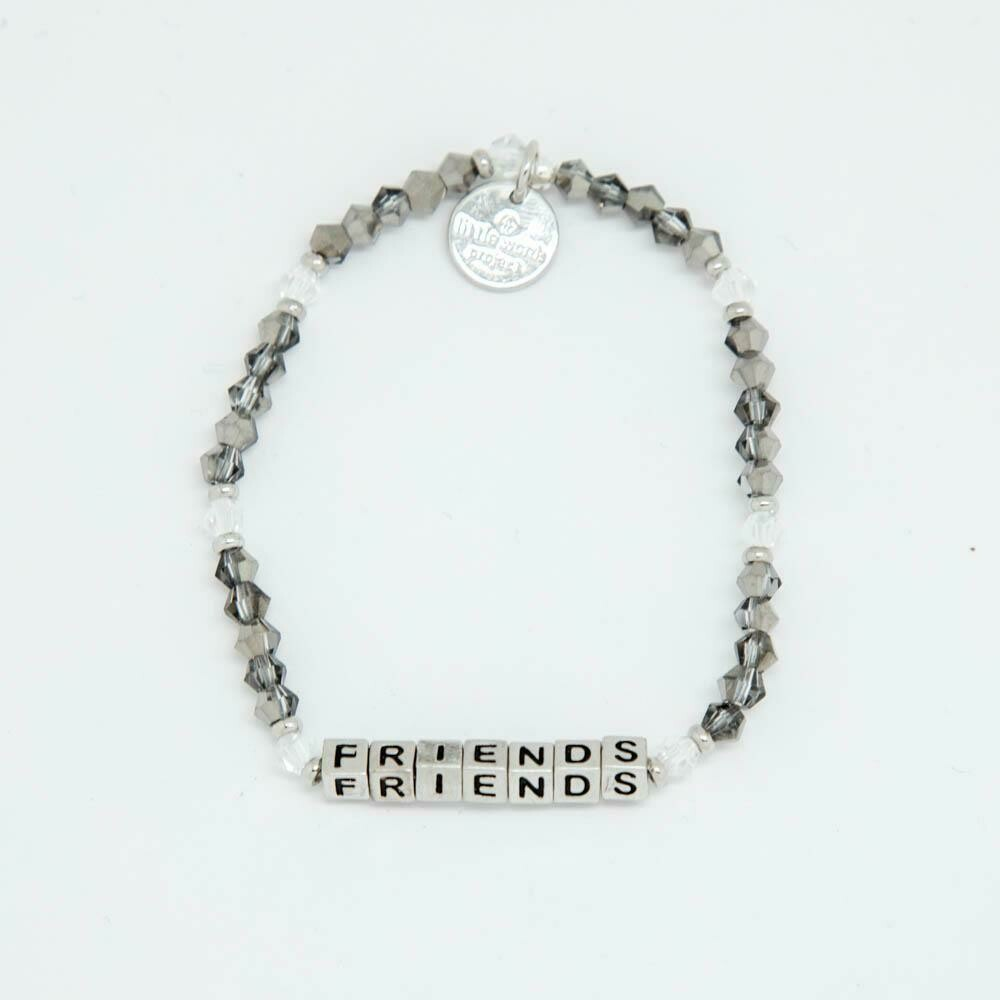 "Little Words Project Silver ""Friends"" Bracelet"