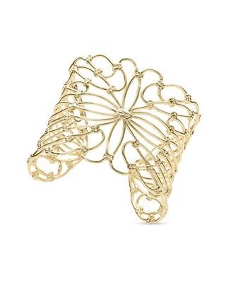 Hallie Statement Bracelet In Gold