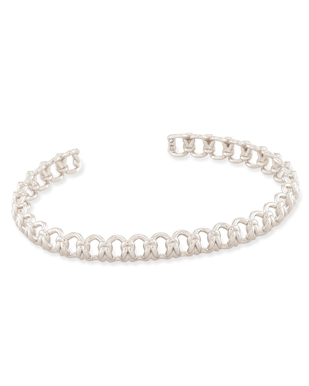 Kendra Scott Fallyn Small Cuff Bracelet in Silver