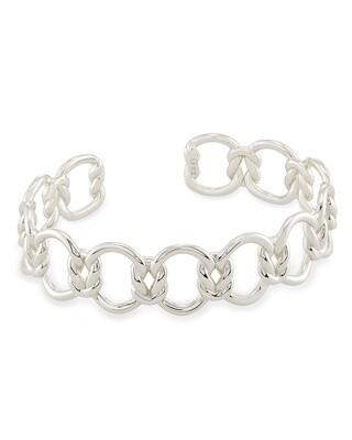 Kendra Scott Fallyn Cuff Bracelet in Silver