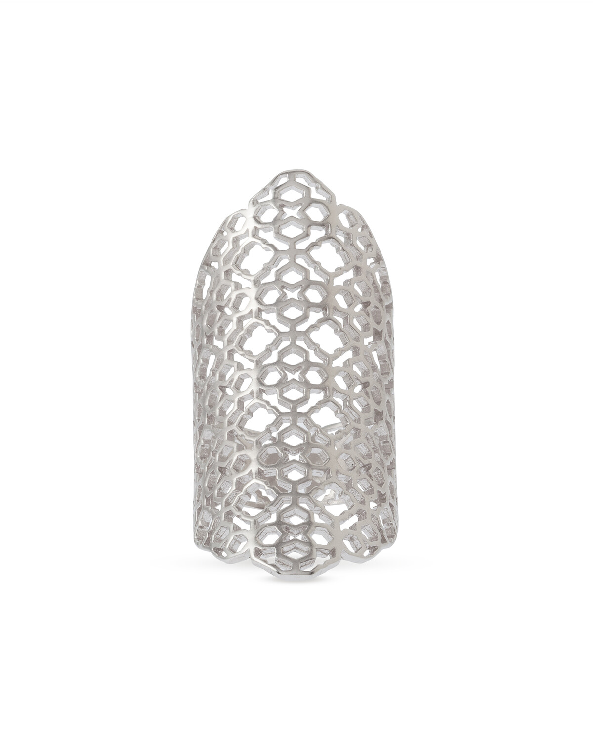 Kendra Scott Boone Cocktail Ring in Silver
