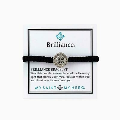 Benedictine Brilliance Bracelet (Silver/Black)