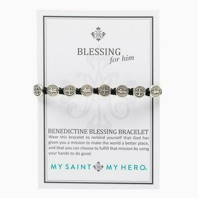 Benedictine Blessing Bracelet For Him