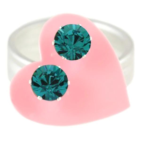 JoJo Loves You Turquoise Mini Blings
