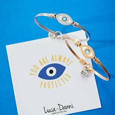 Luca + Danni Evil Eye Bracelet