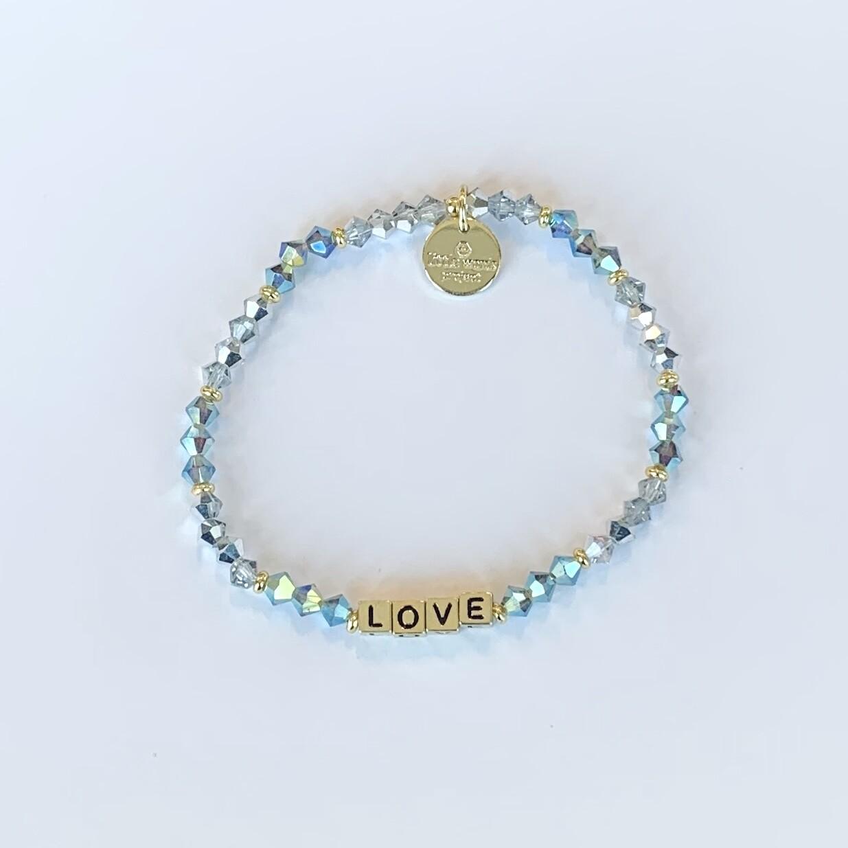 "Little Words Project Gold ""LOVE"" Bracelet"