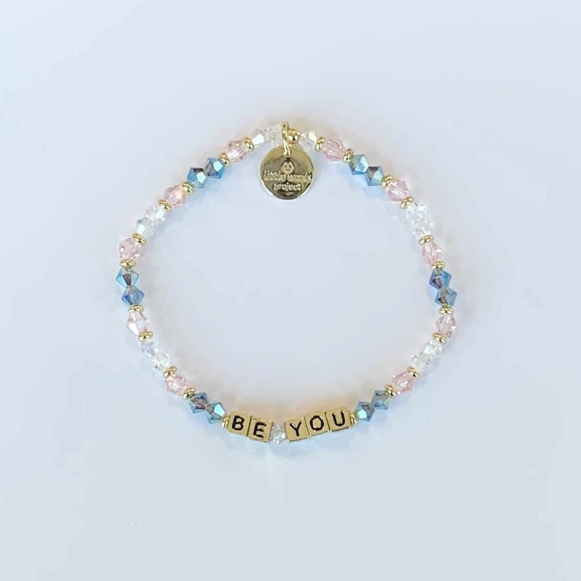 "Little Words Project Gold ""BE YOU"" Bracelet"