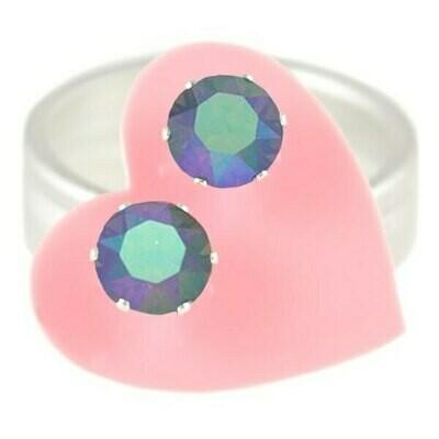 JoJo Loves You Blue Opal AB Mini Blings