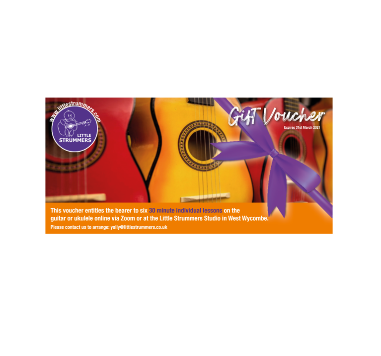 Virtual Lessons Gift Voucher