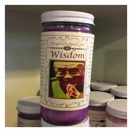 Wisdom, Magrat Spell Jar, Regular