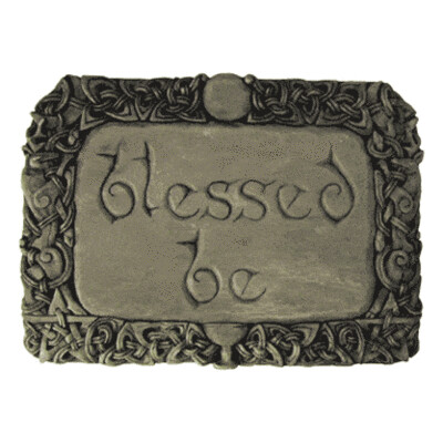 Blessed Be Plaque, Stone