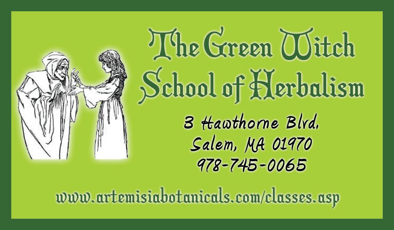 The Green Witch School of Herbalism 2020