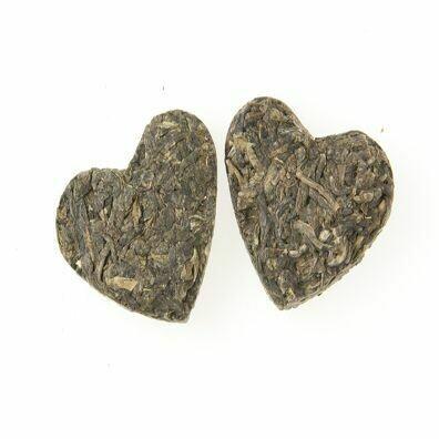 Romeo & Juliet Green  Hearts Tea