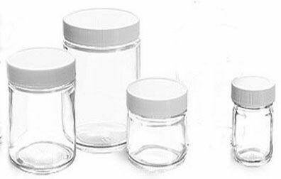 Jar Glass, 4 oz.