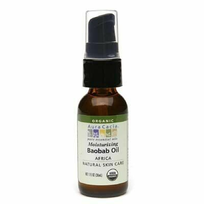Baobab Skin Care Oil, Organic