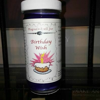 Birthday Wish, Magrat Spell Jar, Retail