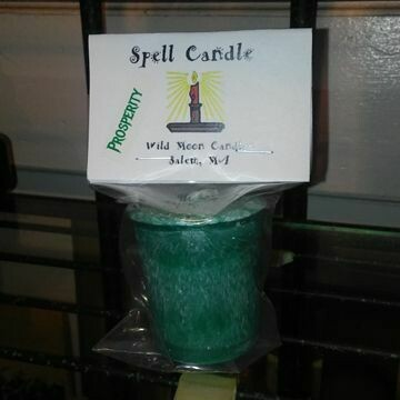 Candle Spell Prosperity