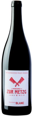 2017 Sauvignon Blanc, Metzgermeisters private Reserve, 75 cl