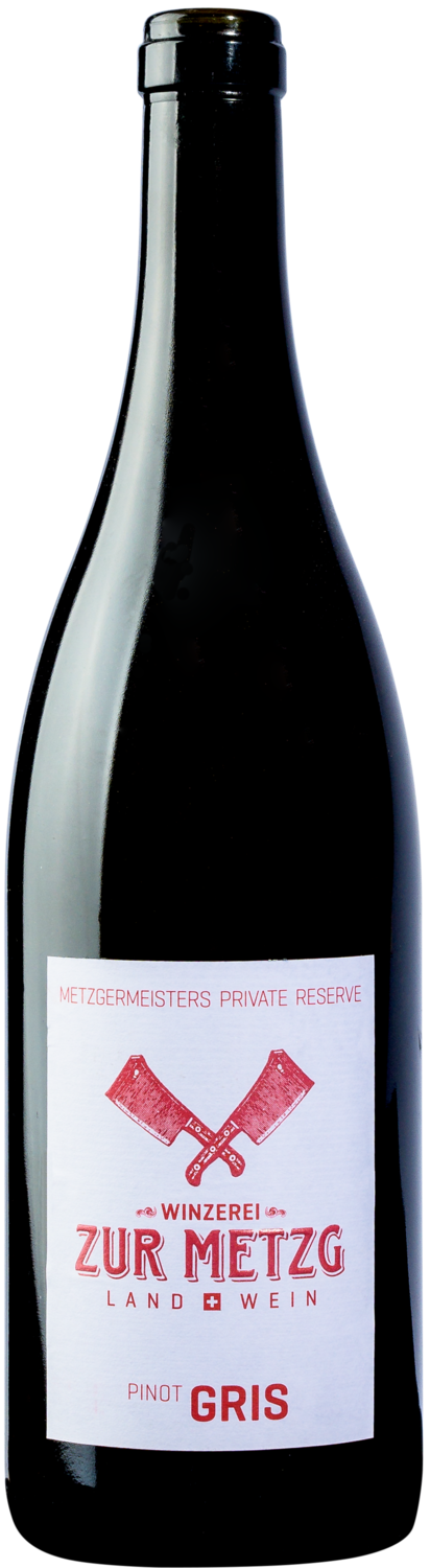 2016 Pinot Gris, Metzgermeisters private Reserve, 75 cl