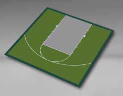 Basketball - Half Court 30'9