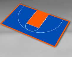 Basketball - Half Court 49'4