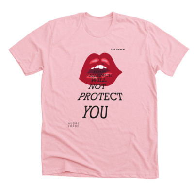 Light Pink #SpeakOut Campaign T-Shirt