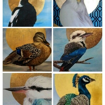 2 Day Bird Painting With Acrylics Workshop - Sat 5th & Sat 12th Sept