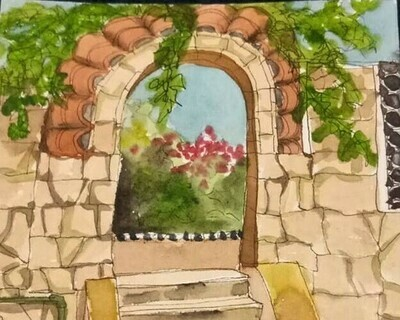 Strathalbyn - Pen & Watercolour Travel Sketching - 9.30am to 12.30pm Saturday 15th August