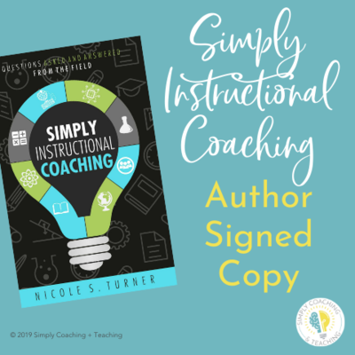 Simply Instructional Coaching Book