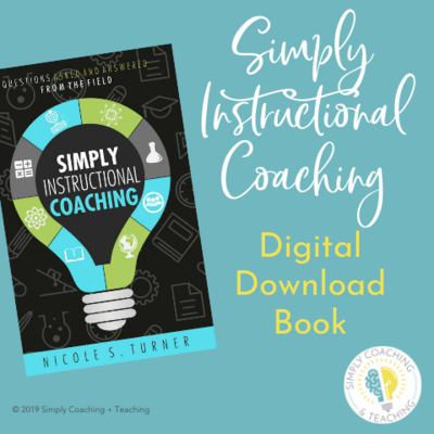 Simply Instructional Coaching Digital Download